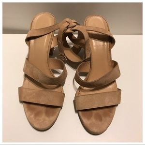 J. Crew Open Toe Shoes